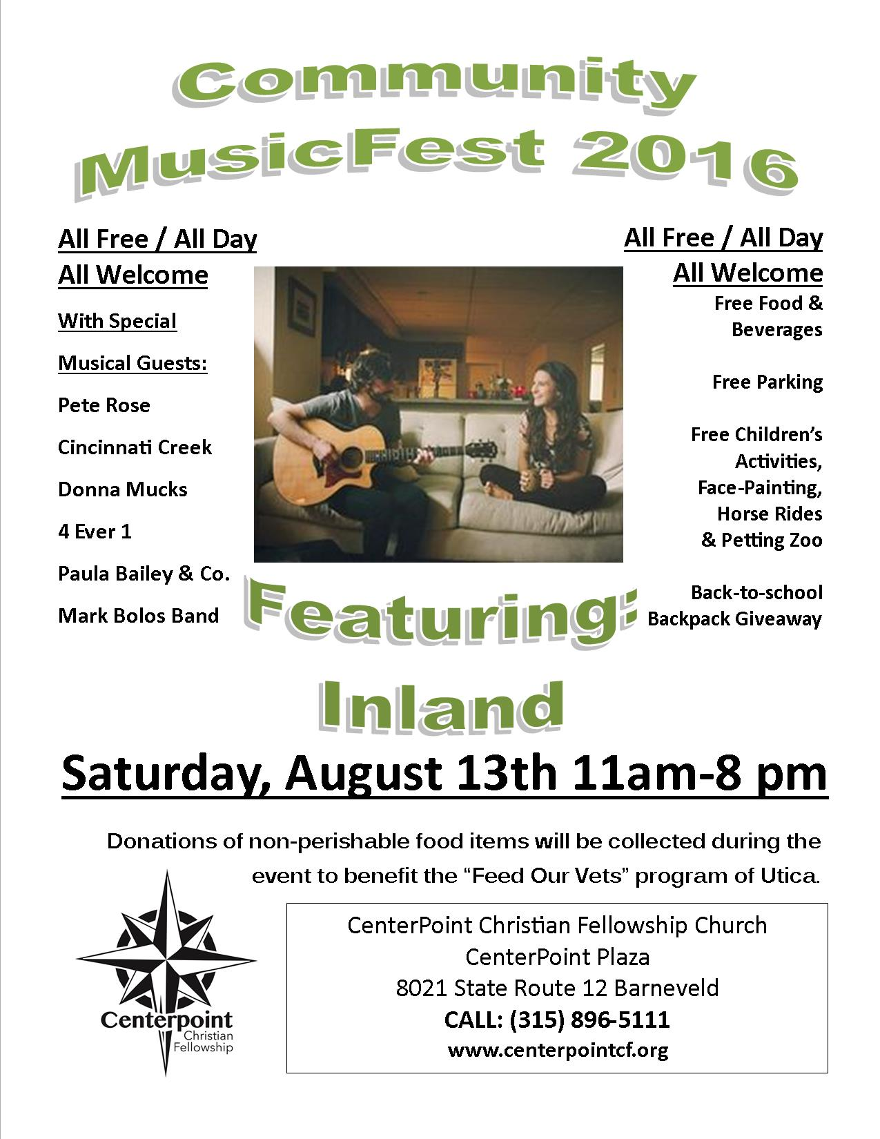 Music Fest Poster Inland