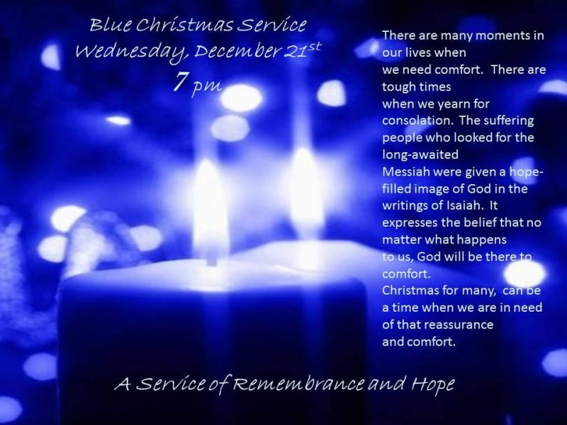 blue christmas service 122116 7pm 15356980_10211831559532782_447614535_n - Blue Christmas Service